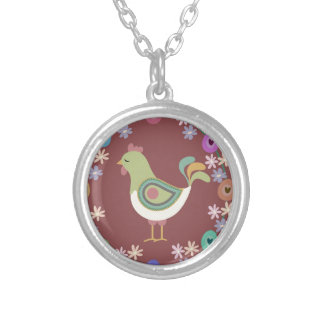 Easter Silver Plated Necklace