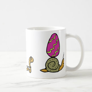 Easter Snail Trail Coffee Mug