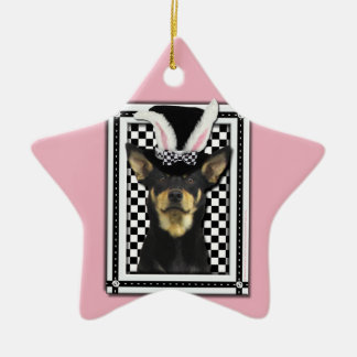 Easter - Some Bunny Loves You - Australian Kelpie Christmas Tree Ornaments