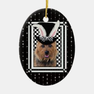 Easter - Some Bunny Loves You - Australian Terrier Christmas Tree Ornament