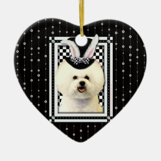 Easter - Some Bunny Loves You - Bichon Frise Christmas Tree Ornament
