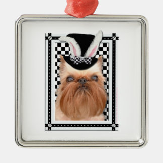 Easter - Some Bunny Loves You - Brussels Griffon Christmas Ornaments