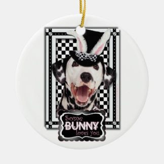 Easter - Some Bunny Loves You - Dalmatian Ornament