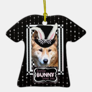 Easter - Some Bunny Loves You - Dingo Christmas Tree Ornament