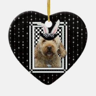Easter - Some Bunny Loves You - GoldenDoodle Christmas Ornament