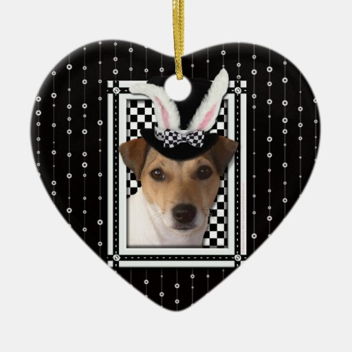 Easter - Some Bunny Loves You - Jack Russell Ornament