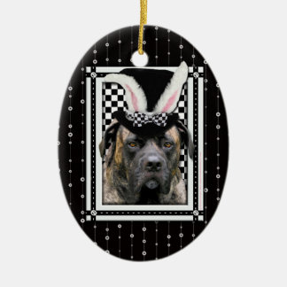 Easter - Some Bunny Loves You - Mastiff Ornament