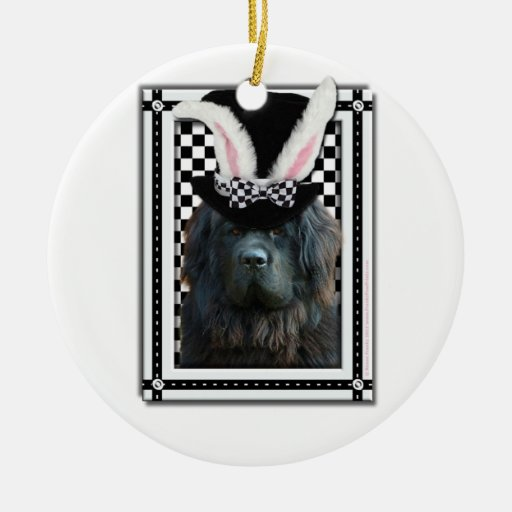 Easter - Some Bunny Loves You - Newfoundland Ornaments