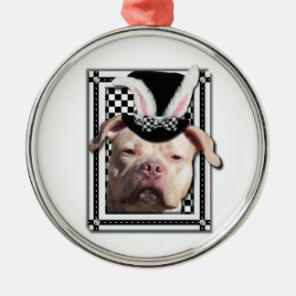 Easter - Some Bunny Loves You - Pitbull Christmas Tree Ornaments