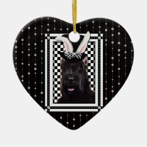 Easter - Some Bunny Loves You - Schnauzer Christmas Tree Ornaments