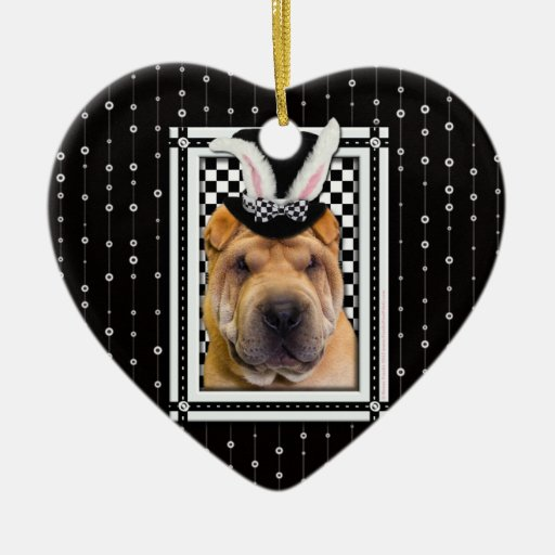 Easter - Some Bunny Loves You - Shar Pei Ornaments