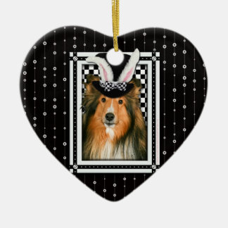 Easter - Some Bunny Loves You - Sheltie Ornament