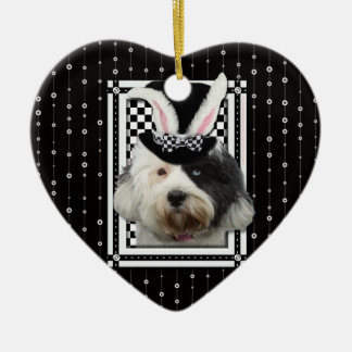 Easter - Some Bunny Loves You - Tibetan Terrier Ornament