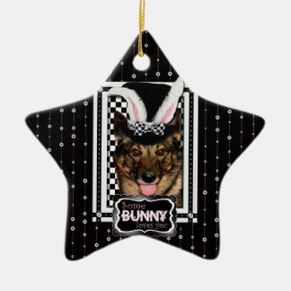Easter - Some Bunny Loves You - Vallhund Christmas Ornament
