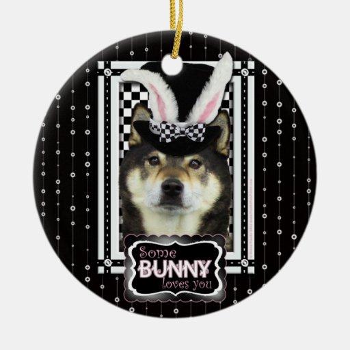 Easter - Some Bunny Loves You -  Yasha Christmas Tree Ornament