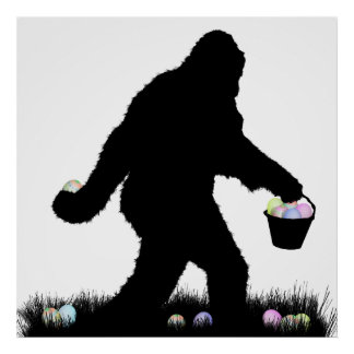 Easter Squatch Print