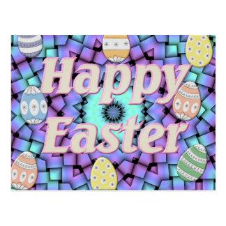 Easter Star Basket Postcard