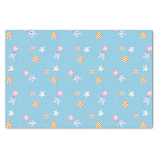 Easter Stars Watercolor Tissue Paper