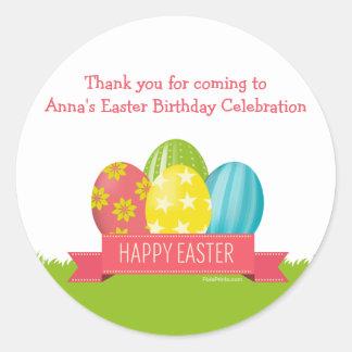 Easter Sticker Round Sticker