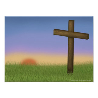 """""""Easter Sunrise"""" Poster"""