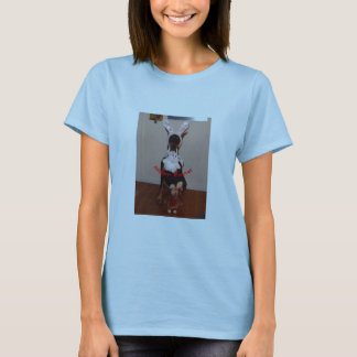 Easter T-shirt with Doberman
