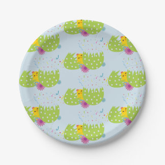 Easter Themed Paper Plates