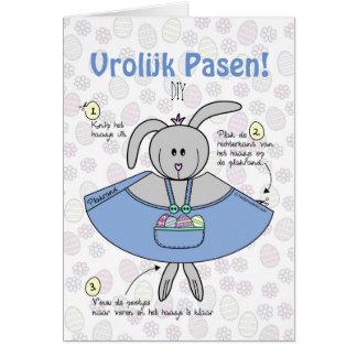 Easter wish card DIY