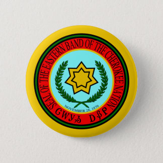 Eastern Band Of The Cherokee Seal 6 Cm Round Badge