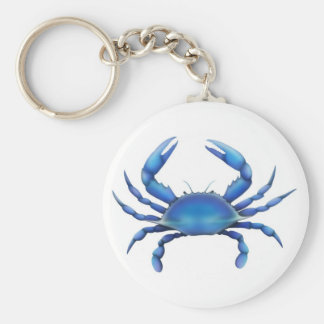 Eastern Blue Crab Key Ring