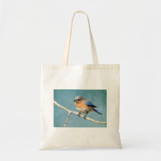 Eastern Bluebird Budget Tote Bag