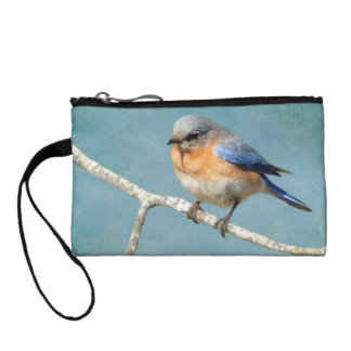 Eastern Bluebird Change Purse