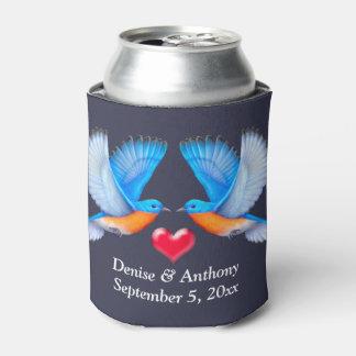 Eastern Bluebird Customised Wedding Can Cooler