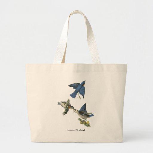 Eastern Bluebird, John Audubon Bags
