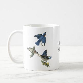Eastern Bluebird, John Audubon Coffee Mug