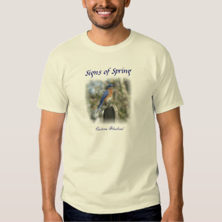 Eastern Bluebird Male T-Shirt