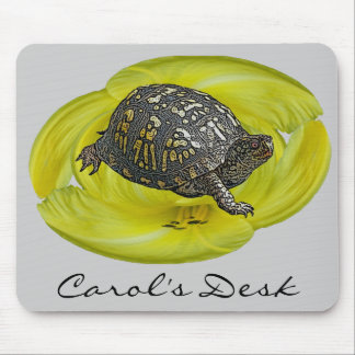 Eastern Box Turtle Coordinating Items Mouse Pad