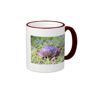Eastern Box Turtle Louisiana Ringer Coffee Mug