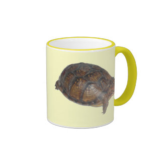 Eastern Box Turtle Ringer Coffee Mug