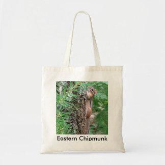 Eastern Chipmunk Tote Bag