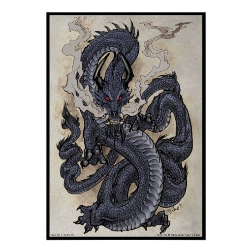 Eastern Dragon Print