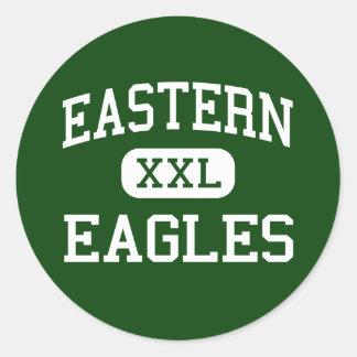 Eastern - Eagles - High School - Reedsville Ohio Round Sticker
