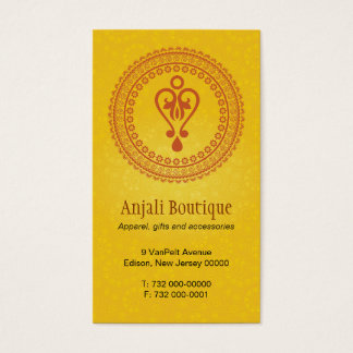 Eastern Embellished Business Card