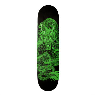 Eastern Emerald Dragon Element Custom Pro Board 20.6 Cm Skateboard Deck