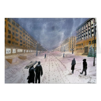 Eastern European Winter Card