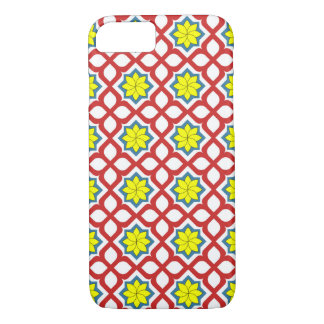 Eastern geometric floral design iPhone 7 case