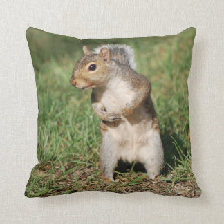 Eastern Gray Squirrel pillow