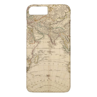 Eastern Hemisphere Circular Map iPhone 7 Plus Case