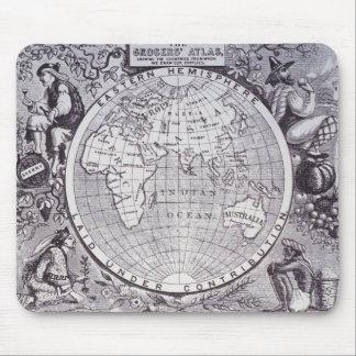 Eastern Hemisphere Mouse Pad