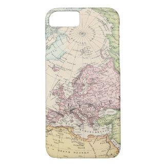 Eastern Hemisphere of Europe iPhone 7 Case