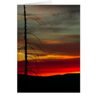 Eastern Oregon Sunrise 1 Card